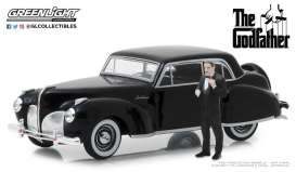 Lincoln  - Continental  1941 black - 1:43 - GreenLight - 86552 - gl86552 | The Diecast Company