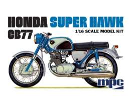 Honda  - Super Hawk  - 1:16 - MPC - 898 - mpc898 | The Diecast Company