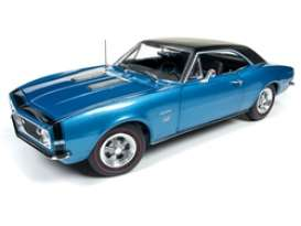 Chevrolet  - Camaro SS 1967 blue - 1:18 - Auto World - AMM1118 - AMM1118 | The Diecast Company