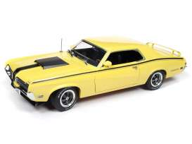 Mercury  - Cougar 1970 yellow/black - 1:18 - Auto World - AMM1155 - AMM1155 | The Diecast Company