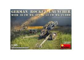 Military Vehicles  - German Rocket Launcher  - 1:35 - MiniArt - 35269 - mna35269 | The Diecast Company