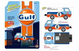 Dodge  - A-100 blue/orange/white - 1:64 - Johnny Lightning - cp7124 - jlcp7124 | The Diecast Company