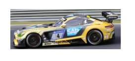 Mercedes Benz  - GT3 2018 yellow/black - 1:43 - Spark - SG401 - spaSG401 | The Diecast Company