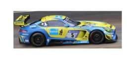 Mercedes Benz  - GT3 2018 yellow/blue - 1:43 - Spark - SG402 - spaSG402 | The Diecast Company