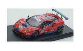 Ferrari  - 488 GTE 2017 red/blue - 1:43 - Look Smart - LM074 - LSLM074 | The Diecast Company