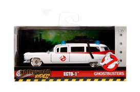 Cadillac  - *Ghostbusters* 1959 white/red - 1:32 - Jada Toys - 99789 - jada99748 | The Diecast Company