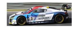 Audi  - R8 LMS 2018 blue/red/white/grey - 1:43 - Spark - SG406 - spaSG406 | The Diecast Company