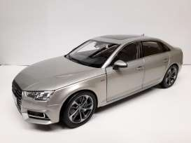 Audi  - A4L 2017 silver - 1:18 - Faw - 1005s - faw1005s | The Diecast Company