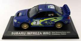 Subaru  - Impreza WRC #7 2003 blue/yellow - 1:43 - Magazine Models - MagRAsu2003 | The Diecast Company