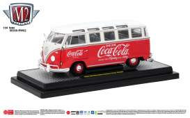 Volkswagen  - Microbus DeLuxe 1960 red/white - 1:24 - M2 Machines - 50300RW02 - M2-50300RW02 | The Diecast Company