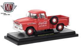 Chevrolet  - Apache 1958 red/white - 1:24 - M2 Machines - 50300RW01 - M2-50300RW01 | The Diecast Company
