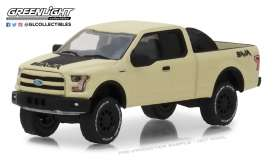 Ford  - F-150 2016 creme - 1:64 - GreenLight - 35110E - gl35110E | The Diecast Company