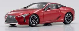 Lexus  - LC500 2018 red - 1:43 - Kyosho - 03675R - kyo3675R | The Diecast Company