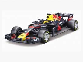 Red Bull Racing   - 2018 blue/red/yellow - 1:43 - Bburago - bura2018 | The Diecast Company