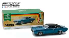 Dodge  - Challenger 1970 blue - 1:18 - GreenLight - 13530 - gl13530 | The Diecast Company