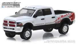 Ram  - 2500 2016 white - 1:64 - GreenLight - 29982 - gl29982 | The Diecast Company