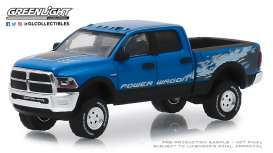Ram  - 2500 2016 blue - 1:64 - GreenLight - 29983 - gl29983 | The Diecast Company