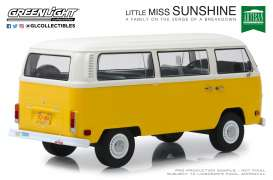 Volkswagen  - T2 Bus *Little Miss Sunshine* 1978 yellow/white - 1:18 - GreenLight - 19051 - gl19051 | The Diecast Company