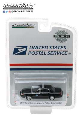 Ford  - Crown Victoria 2010 black - 1:64 - GreenLight - 29971 - gl29971 | The Diecast Company