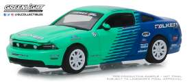 Ford  - Mustang 2013 blue/green - 1:64 - GreenLight - 29972 - gl29972 | The Diecast Company