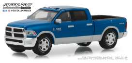 Ram  - 2500 Big Horn 2018 blue - 1:64 - GreenLight - 29973 - gl29973 | The Diecast Company