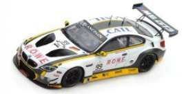 BMW  - M6 GT3 2016 white/black/yellow - 1:43 - Spark - sb175 - spasb175 | The Diecast Company
