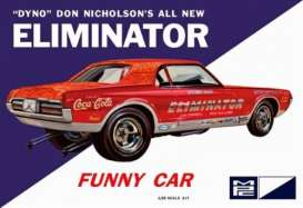 Ford  - Cougar Eliminator  - 1:25 - MPC - 888 - mpc889 | The Diecast Company