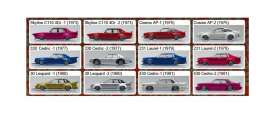 Assortment/ Mix  - various - 1:64 - Aoshima - 15542 - abk15542 | The Diecast Company