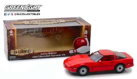 Chevrolet  - Corvette C4 *the Big Lebowski* 1985 red - 1:18 - GreenLight - 13533 - gl13533 | The Diecast Company
