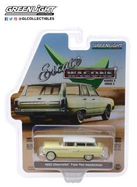 Chevrolet  - Two-Ten Handyman 1955 gold/beige - 1:64 - GreenLight - 29930A - gl29930A | The Diecast Company