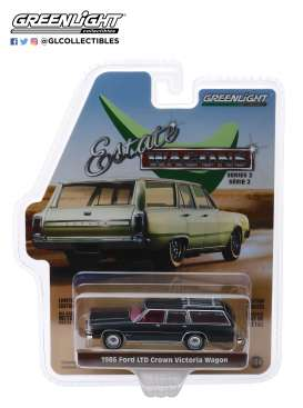 Ford  - LTD Crown Victoria 1986 dark grey - 1:64 - GreenLight - 29930E - gl29930E | The Diecast Company
