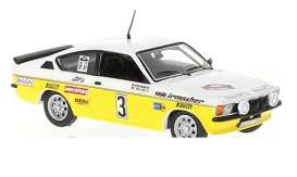 Opel  - Kadet 1978 white/yellow - 1:43 - IXO Models - rac263 - ixrac263 | The Diecast Company