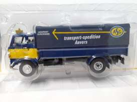 Volvo  - F86 blue/yellow - 1:43 - Magazine Models - magTRUasg | The Diecast Company