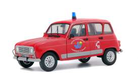 Renault  - 4L red - 1:18 - Solido - 1800106 - soli1800106 | The Diecast Company