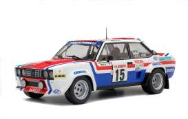 Fiat  - 131 1979 white/red/blue - 1:18 - Solido - 1800807 - soli1800807 | The Diecast Company
