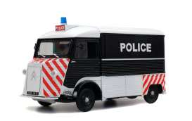 Citroen  - HY 1969 black/white/red - 1:18 - Solido - 1850024 - soli1850024 | The Diecast Company