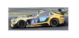 Mercedes Benz  - AMG GT3 2018 yellow/black - 1:18 - Spark - 18SG028 - spa18SG028 | The Diecast Company