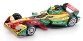 Audi  - 2016 green/yellow/red - 1:43 - Spark - S5901 - spaS5901 | The Diecast Company
