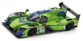 Ligier  - JS P217 2018 green/blue - 1:43 - Spark - S7026 - spas7026 | The Diecast Company