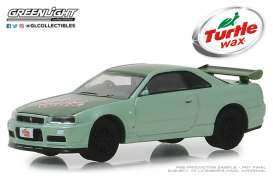 Nissan  - Skyline GTS-R 2000 2-tone green - 1:64 - GreenLight - 30017 - gl30017 | The Diecast Company