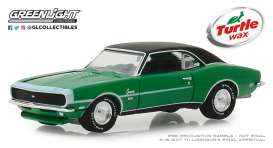 Chevrolet  - Camaro SS 1968 green - 1:64 - GreenLight - 30018 - gl30018 | The Diecast Company