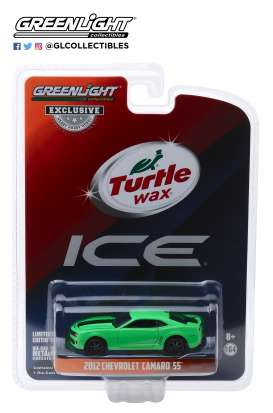 Chevrolet  - Camaro SS 2012 green - 1:64 - GreenLight - 30019 - gl30019 | The Diecast Company