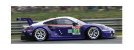 Porsche  - 911 RSR  2018 purple/white - 1:43 - Spark - S7032 - spas7032 | The Diecast Company
