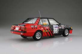 Mitsubishi  - Lancer 2000 Turbo #116  1984 red/black - 1:24 - Beemax - 24022 - bmx24022 | The Diecast Company