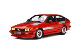 Alfa Romeo  - GTV6 1984 red - 1:18 - OttOmobile Miniatures - 295 - otto295 | The Diecast Company