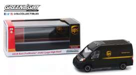 Ram  - ProMaster 2018 brown - 1:43 - GreenLight - 86156 - gl86156 | The Diecast Company