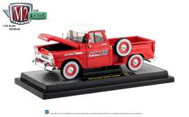 Chevrolet  - Apache 1958 red/white - 1:24 - M2 Machines - 40300-63B - M2-40300-63B | The Diecast Company