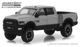 Ram  - 2500 Power Wagon 2018 silver - 1:64 - GreenLight - 30014 - gl30014 | The Diecast Company