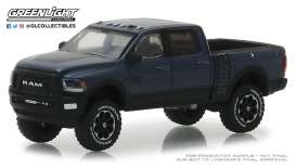 Ram  - 2500 Power Wagon 2018 black - 1:64 - GreenLight - 30016 - gl30016 | The Diecast Company