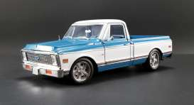 Chevrolet  - C10 blue/white - 1:18 - Acme Diecast - 1807209 - acme1807209 | The Diecast Company